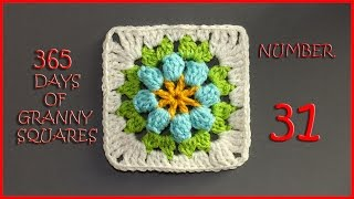 365 Days of Granny Squares Number 31