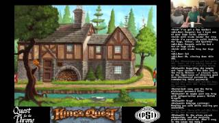 King's Quest V - Finale & King's Quest VI Intro [Quest for the Throne]