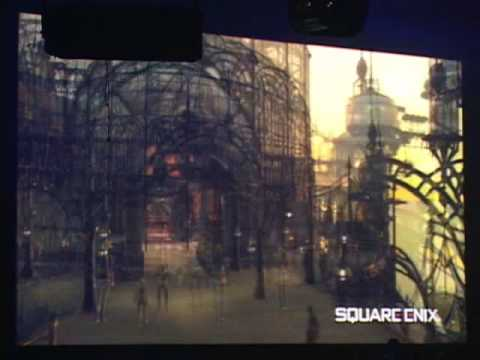 Square-Enix Technological Demo on XBox360 TSG 2005 Music Videos
