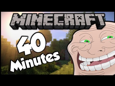 Minecraft: Trolling A Weird 9 Year Old 40+ Minute Compilation