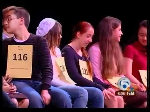Scripps Regional Spelling Bee in Boca Raton