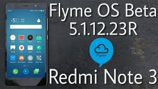 [OFFICIAL] FLYME OS [Redmi Note 3]
