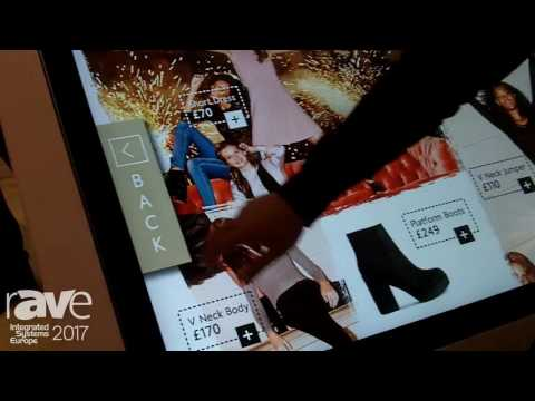 ISE 2017: allsee Exhibits Multi Touch Screen