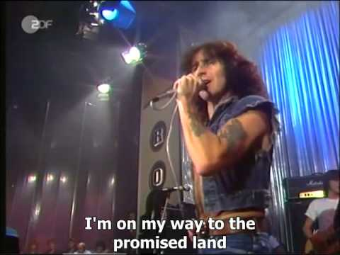 AC DC Highway to Hell Live German TV with Bon Scott 1979 Subtitled