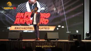 KENNY BLAQ AT SENDS AUDIENCE LAUGHING AT AKPORORO VS AKPORORO