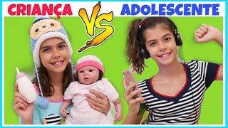 CRIANÇA VS ADOLESCENTE 3 | NICOLE DUMER