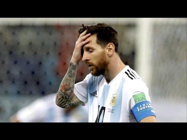 World Cup recap: Argentina loses to Croatia, 3-0, in huge upset