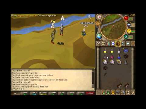 Runescape Xpro sniper pk video Rambo dds-ags-dharok-claws-hybrid 20m+ loot