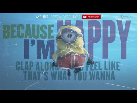 HAPPY - Pharrell Williams (feat. Minions) | 2014 Official [HQ]