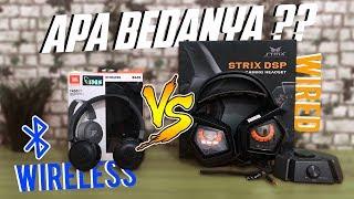 Headset Wireless  700 RIBU VS Headset Gaming 3 JUTA | BEDA DI KABEL DOANG ??