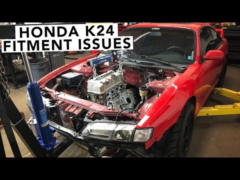 Is The K24 Going to Fit? - Honda K-Swap 240SX - EP02