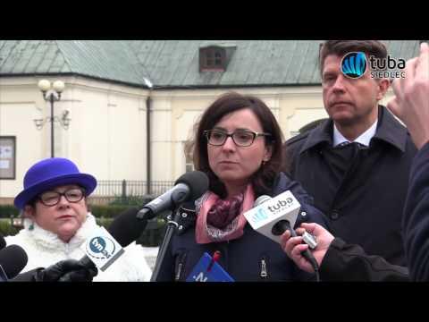Ryszard Petru w Siedlcach - 20.02.2017