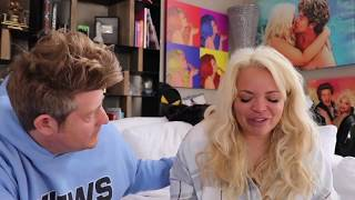 Trisha Paytas and Jason Nash BREAK UP 8 Times in 8 Minutes