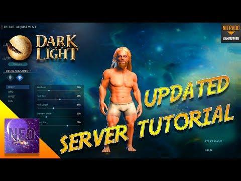 ❗❗ UPDATED DARK AND LIGHT - SERVER TUTORIAL - [ Dark and Light Tutorial  ]