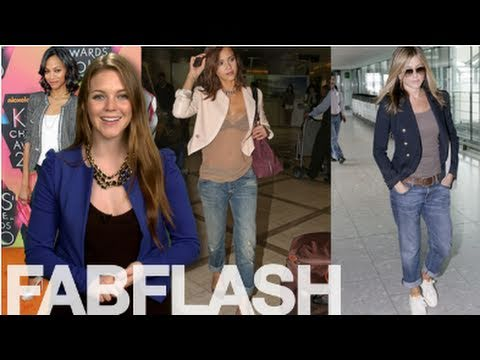 Ten Celebrity Denim Looks From 2010: FabSugarTV