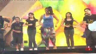 Lakshmi Rai Dance Practice At CCL 2 Curtain Raiser