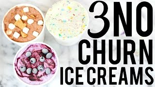 3 NO CHURN ICE CREAM RECIPES: BAKING WITH MEGHAN