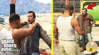 GTA 5 - MICHAEL SURVIVED HIS FALL in The Final Mission (secret)