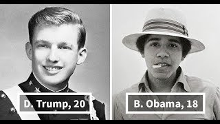 10+ US Presidents When They Were Young