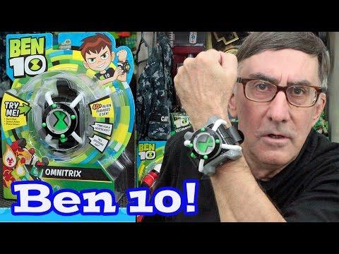Ben 10 Reboot Omnitrix Unboxing!