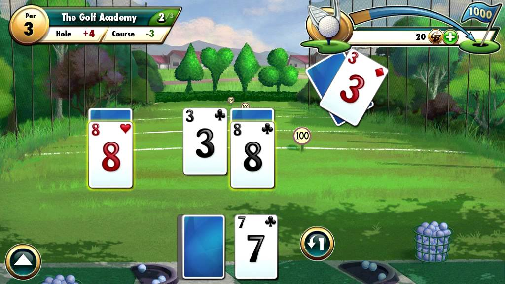 Fairway solitaire by big fish games running on android for Big fish games android