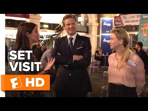 Bridget Jones's Baby Exclusive Set Visit (2016) - Colin Firth, Renée Zellweger Movie HD