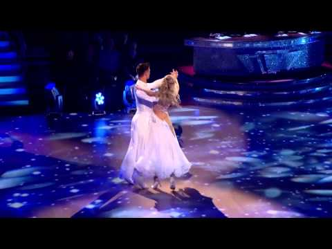 Abbey Clancy & Aljaž Skorjanec - Waltz - Strictly Come Dancing 2013 - Week 1