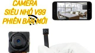 camera siêu nhỏ mini ngụy trang không dây IP WIFI quay đêm xem từ xa qua điện thoại giá rẻ