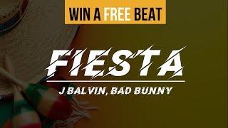 (FREE) J Balvin x Bad Bunny Type Beat 2019 - Fiesta   Free Type Beat   Latin Trap Instrumental 2019