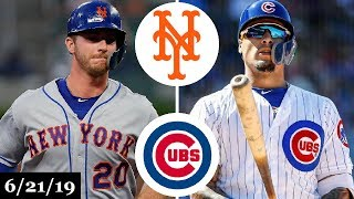 New York Mets vs Chicago Cubs - Full Game Highlights | June 21, 2019 | 2019 MLB Season