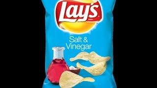 Lay's salt and vinegar potato chips review