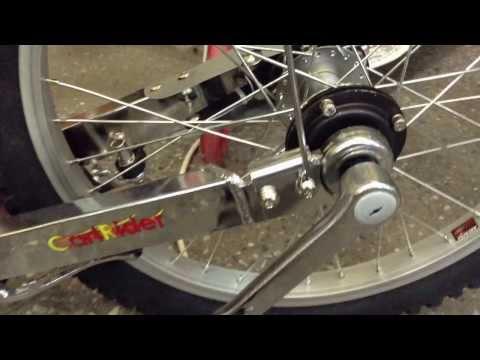 Трёхколёсный лежачий велосипед круизер (лигерад) Sports cart 20 (3 скорости)
