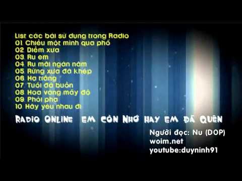 radio online : cho những ai đang hoài niệm (woim.net)