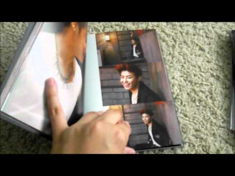 Block B Nanlina Dvd Korea Light Ver. Unboxing video