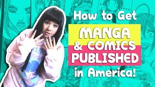 ?How to Submit Manga / Comic to Publishers in America? How to Get Published (part 2)