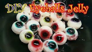 วุ้นลูกตาฮาโลวีน Halloween Eyeballs