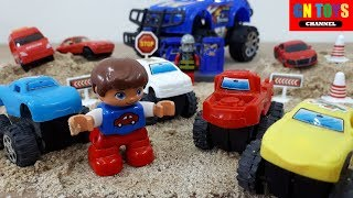 Cars Racing For Kids | Trucks Racing Videos For Kids | Off Road Racing Truck For Children