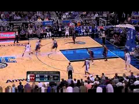 2011 NBA Playoffs: Hawks vs. Magic Game 5 Recap (4/26/11)