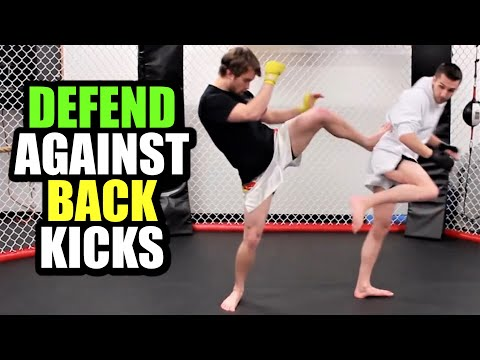 How To Defend Against Spinning Back Kicks | Kickboxing MMA TMA Image 1