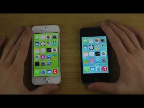 iPhone 5 iOS 7 GM vs. iPhone 4S iOS 7 GM - Opening Apps Speed Test