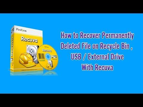 Recuva ★Demo★ - Recover permanent deleted file with Recuva