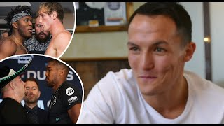 KSI vs Logan Paul 2 A FARCE! Why Josh Warrington WON'T BE WATCHING