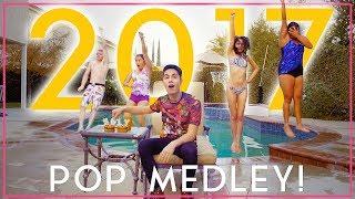 Download Lagu 2017 POP MEDLEY - Reverse One-Take!! (Sam Tsui + KHS) Gratis STAFABAND
