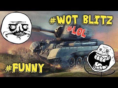 WOT BLITZ - Приколы, смешные моменты#1