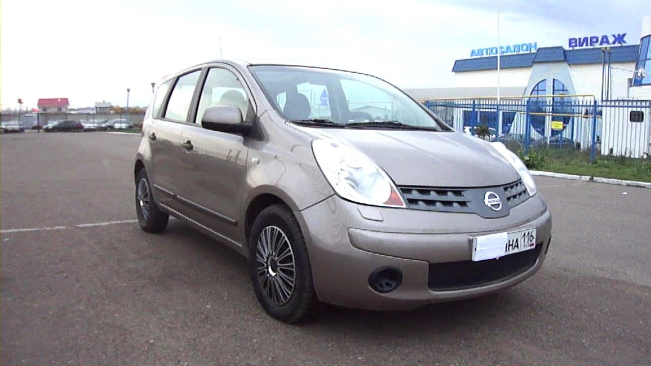 2008 Nissan Note Start Up Engine And In Depth Tour