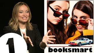 Olivia Wilde on directing Booksmart, shooting underwater and pronouncing Barcelona