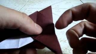 Origami Gorrion Sparrow - Roman Diaz 'steps 26 - 29