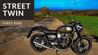 2019 Triumph Street Twin  | First Ride | Review | EN/DE Subs