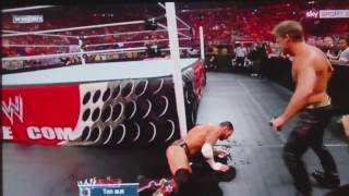 Chris Jericho VS. CM Punk Alcohol FAIL - WWE accident - wrestling funny moments Y2J