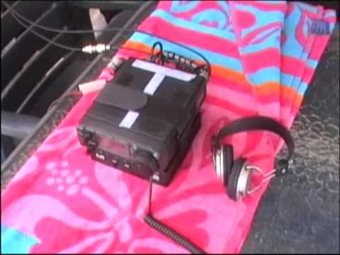 Ham Radio on House Boat vk3ncr